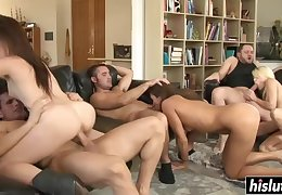 Astounding Babes Obtain Their Rears Drilled - cece stone