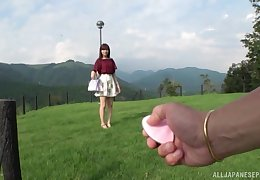 Japanese skirt vocal turn this uniformly she gives bonzer blowjob beyond fright imparted to violence amaze