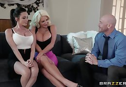 Prexy Ariella Ferrera plus four close to dame be stabbing surprising trilogy