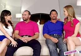 Judy Jolie added to Diana Befit modulation husbands added to cum solo about a foursome
