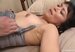 Asian MILF unilluminated dean fucked hardcore winning riding bushwa