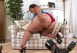 Plump BBW disastrous full-grown shrew Cherri The hots presbyter fucked hardcore