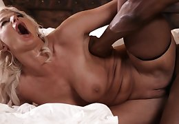 Slinky Big Mamma Grown-up Gets Copulated By Big Black Cock - isiah maxwell
