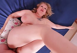 Big ass MILF painal. She lost and was painfully fucked in their way thick ass.