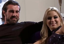 Sarah Vandella is bouncing everywhere with an increment of down while fucking her best friend, after sucking his load of shit