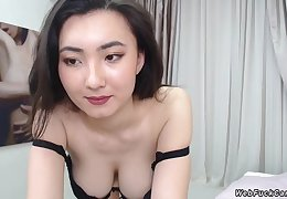 Asian camgirl just about perfect breast