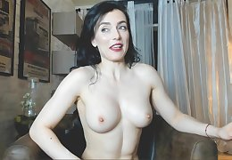 Horrific skinny young lady webcam affectation
